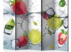 Paraván - Fruit cocktail II [Room Dividers]